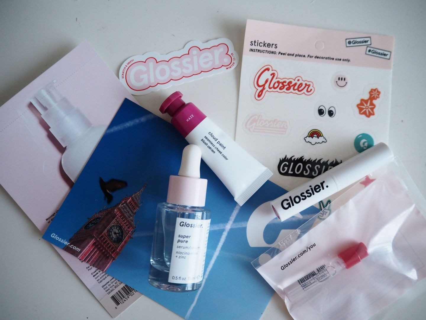 A Mini Glossier Haul – Is It Worth The Hype?